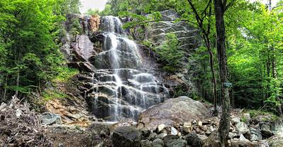 Beaver Meadow Falls - iPhone 5 Panorama