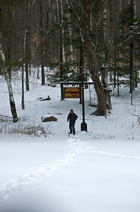 Lake George Wild Forest - Dacy Clearing January 12, 2012               ~ 10 Second Run ~