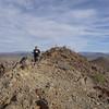 Hiking on the Union Peak Trail.