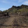 Rocks on the Valle Verde Trail.