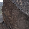 Petroglyphs at Squaw Creek Ruins Agua Fria National Monument