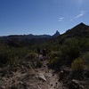 Superstition Wilderness Black Top Mesa Hike