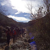Hiking the Badger Springs trail in the Agua Fria National Monument with the 3H Hikers.