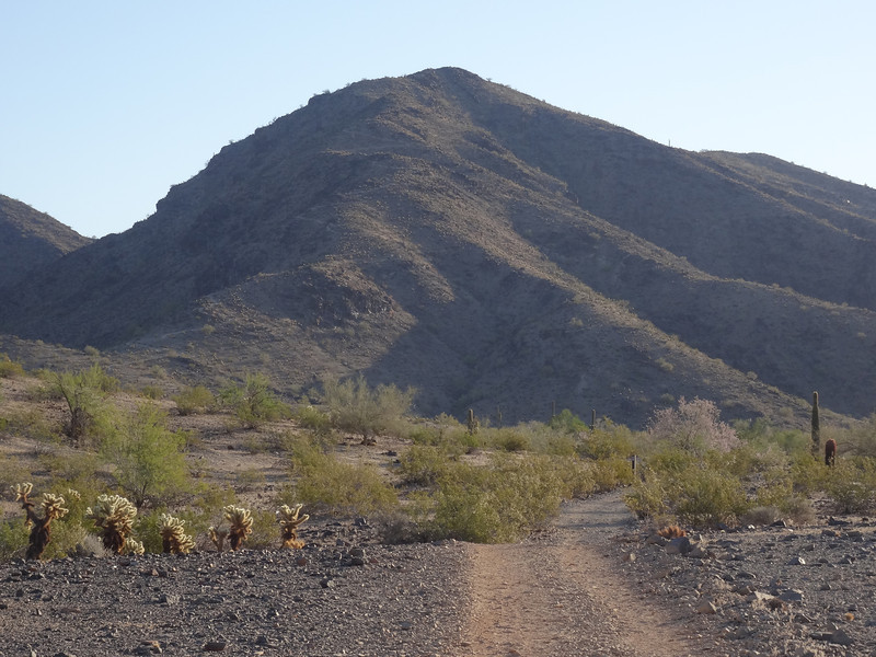 Maricopa South Moutain Park Pyramid, National, and Lost Ranch Trails