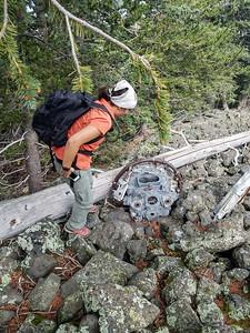 2018-08-25 Humphreys B24 Crash Hike