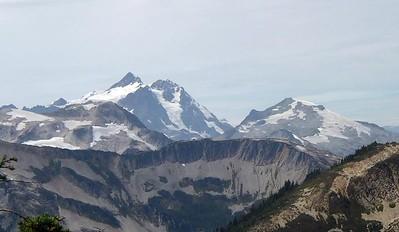 Mt. Shuksan and Mt. Ruth.