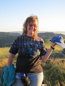 Ellen at the summit.