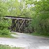 Railroad trestle at Ballard Road across from Ozone Falls