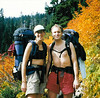 Ken and Monique on the way to Snow Lake.