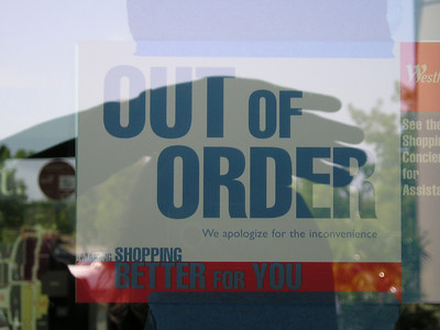 """""""Out of order, making shopping better for you."""" I like it."""