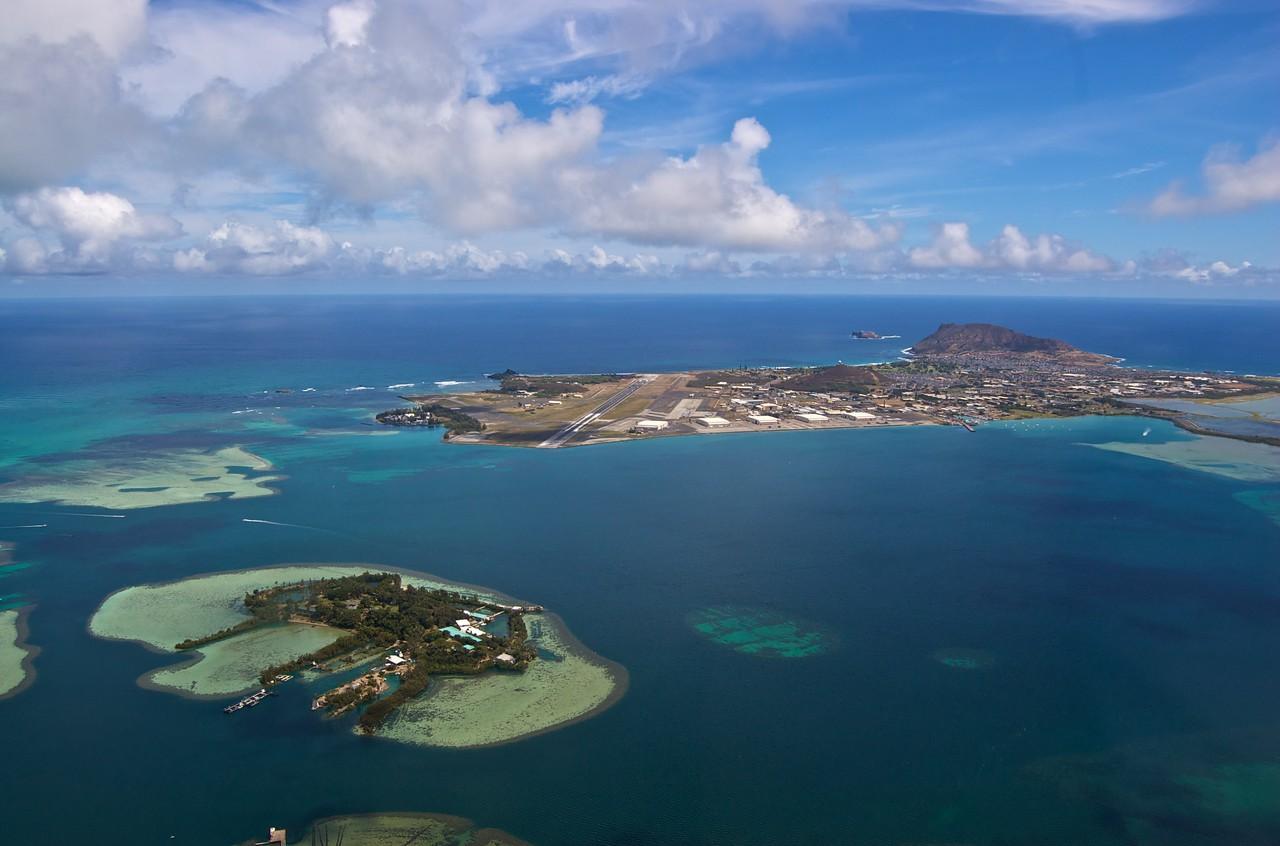 Kaneohe Marine Corps Base and Coconut Island