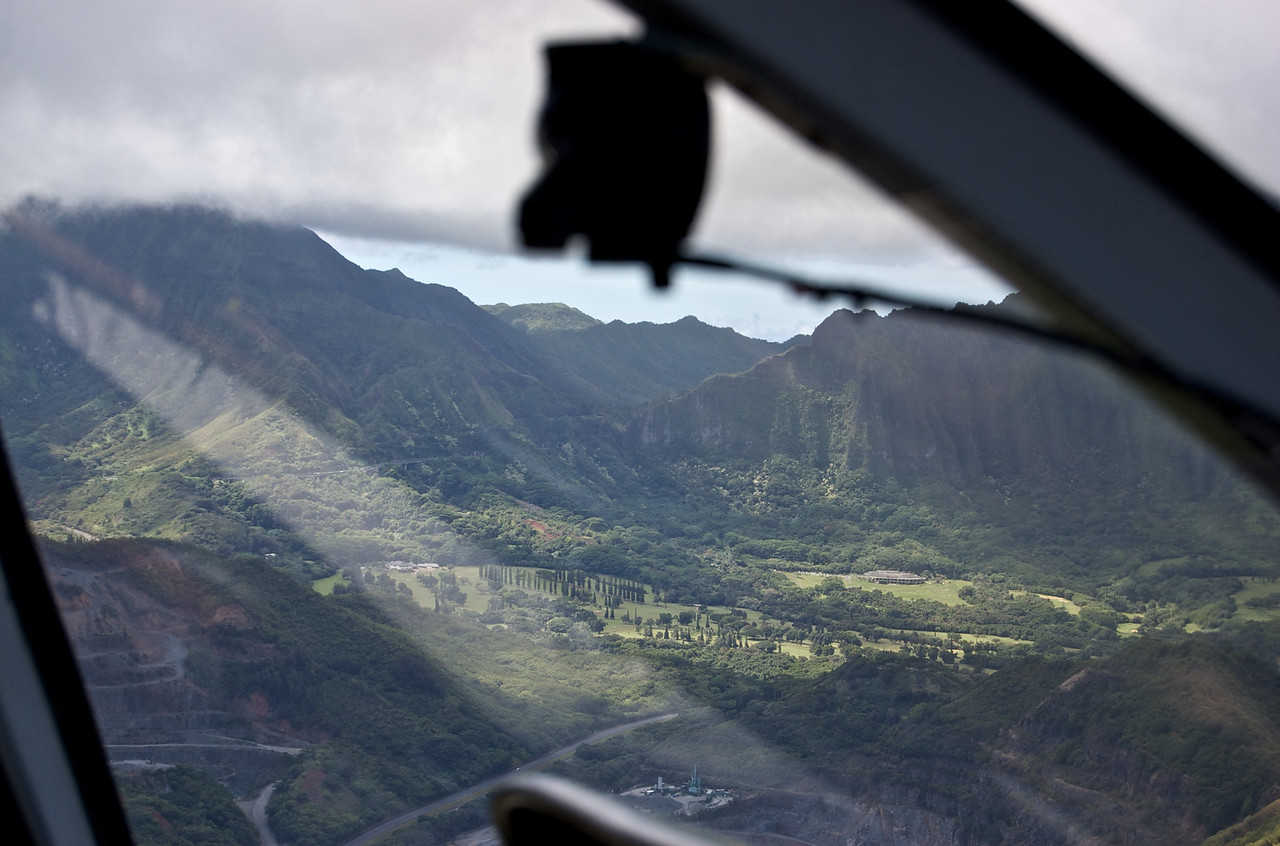 Looking into the Pali Look Out