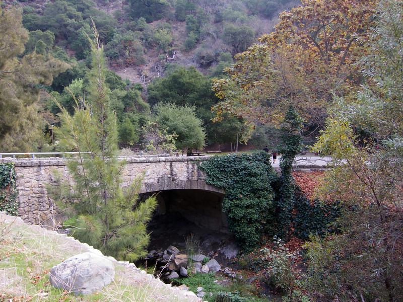Stonework bridge