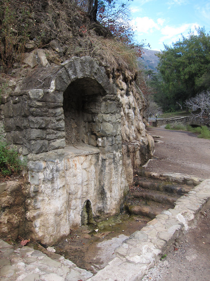 In the early 1900s, Alum Rock park was famous for its mineral springs.
