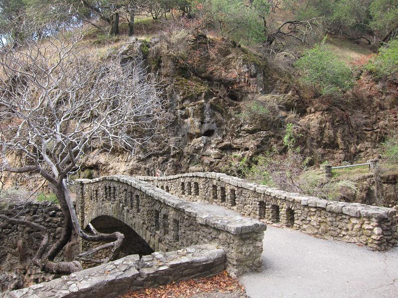 Cool stonework bridge.