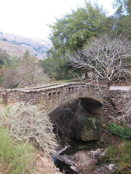 Old stone bridge.