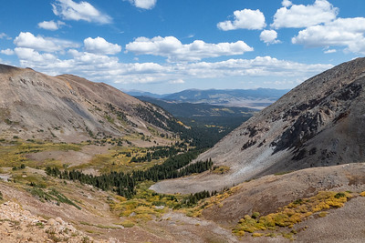 View East from Black Powder Pass