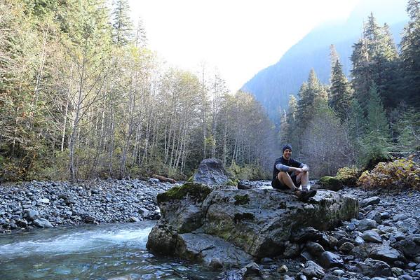 Boys Hike Landslide Lake 2013