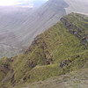 The north slopes of Pen y Fan and Cribbin