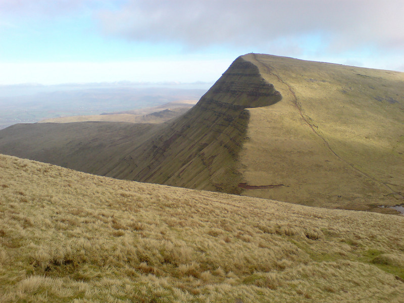 Cribbin from near the summit of Pen y Fan
