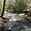 A simple but effective cable bridge across Matthew's Creek
