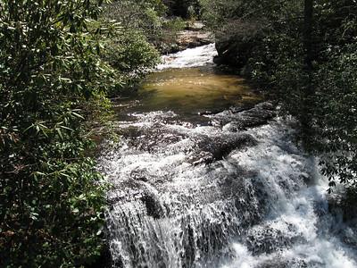 Matthew's Creek just above the bridge
