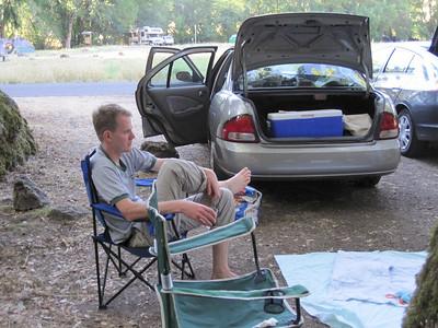 Camping Sugarloaf - July 2010