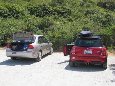 Camping at Big Sur Jun 2007