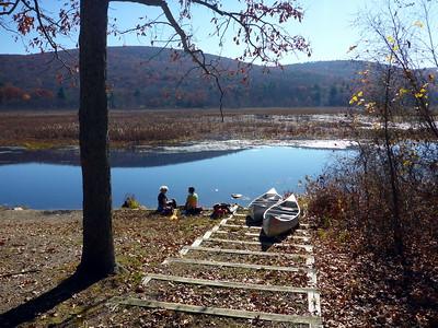 Canoeing the Bashakill (11/4/15).