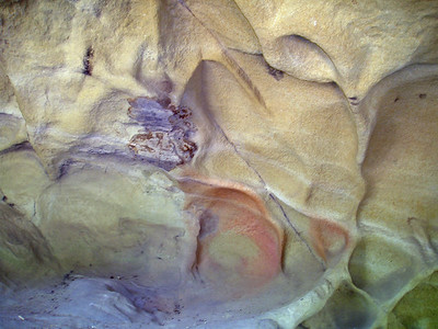 The textures and colors and shapes of the sandstone fascinate me.