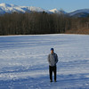 Me w/ Mount Washington in the back...from North Conway.