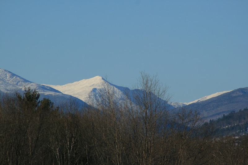 Mount Washington from North Conway.