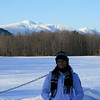 Kristin w/ Mount Washington in the back...from North Conway.
