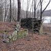 Ruins near Mud Pond.