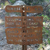 One of the sign posts along the way.