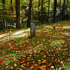 Unnamed cemetery near the junction of Curry Mtn. Trail and the Meigs Mtn. Trail.
