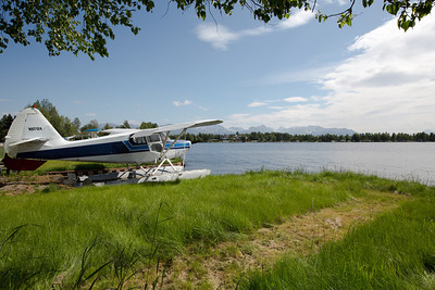 Lake Hood Seaplane base the world's busiest seaplane base.