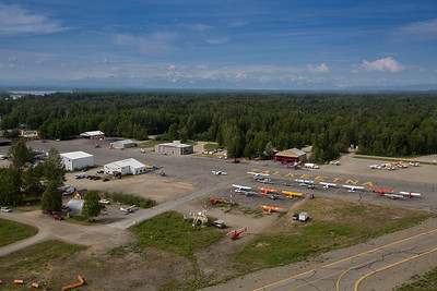 Take off from Talkeetna