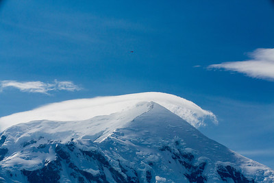 lenticular clouds over Mt foraker
