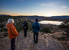 Evening hike by Wide Hollow Campground, overlooking Wide Hollow Reservoir