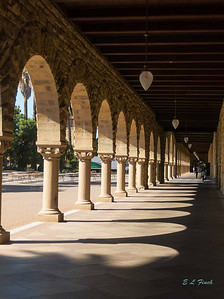 Shadows and arches.