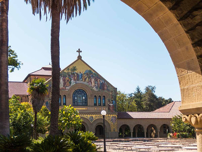 The Stanford chapel.