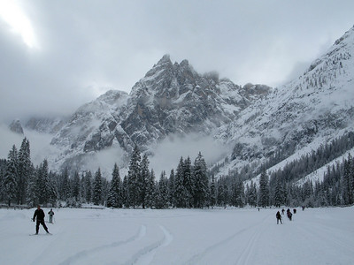 Dolomiti cross country skiing