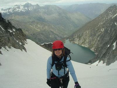 Me on the Colchuck glacier.