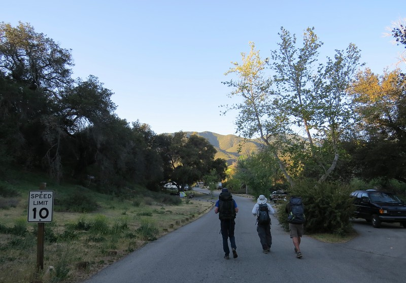 At Dripping Springs Campground, Riverside County.