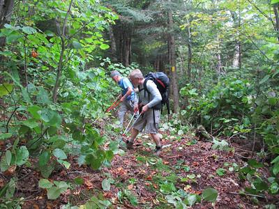 Cardigan Elwell Trail Brushing