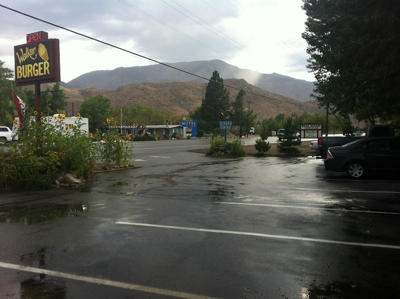Rain in Walker, CA