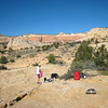 Our first campsite in Phipps Wash.