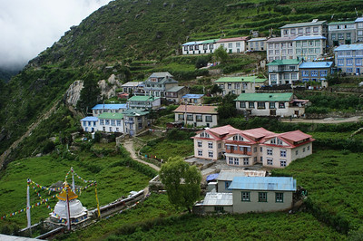 Lower Namche town