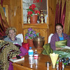Gaynor and Eva had a real knack of making themselves look completely at home in the lodge dining rooms